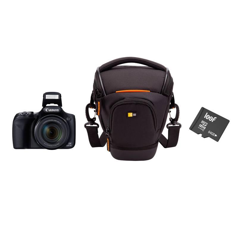 - Combo Cámara Semiprofesional SX530 + Bolso + Micro SD 64GB