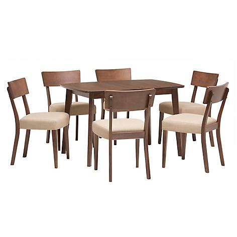 Mica juego de comedor 6 sillas rivers for Falabella muebles de comedor