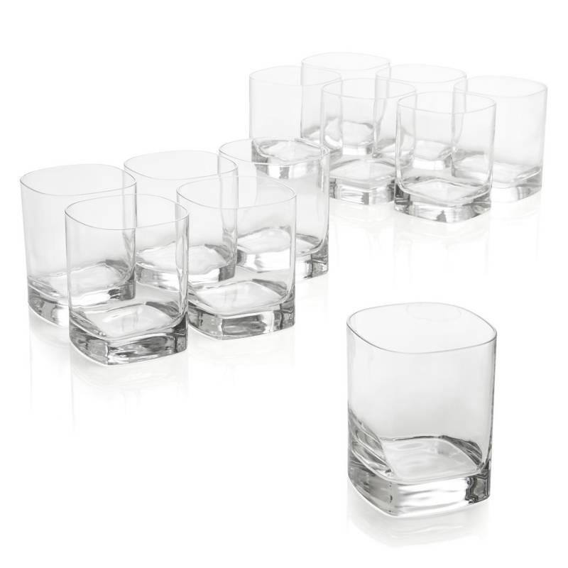 - Set 12 Vasos Bajos Strauss 325 ml