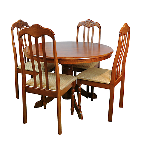 Roberta allen juego de comedor polanco 4 sillas for Juego de comedor 4 sillas