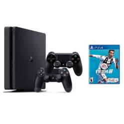 undefined - Consola PS4 1TB + FIFA 19 + 2 Controles