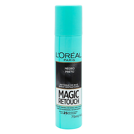 Spray Tapacanas Magic Retouch Negro 75ml