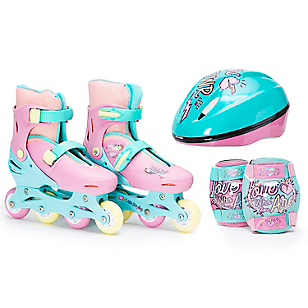 Set de patines Love who you are  35-38