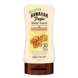 Hawaiian Tropic - Loción protectora solar Sheer Touch SPF30 120ml