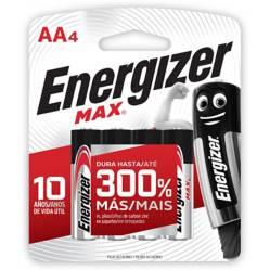 Energizer - Set por 4 pilas AA