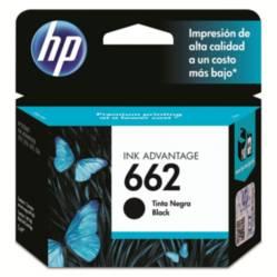 HP - Cartucho 662 Negro
