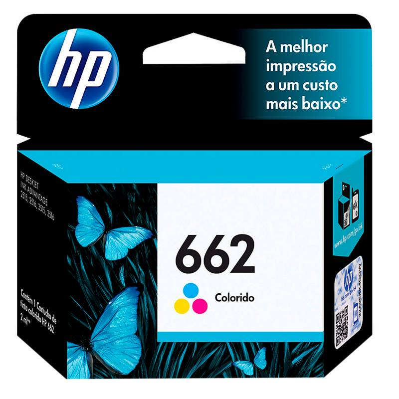 HP - Tinta 662 color