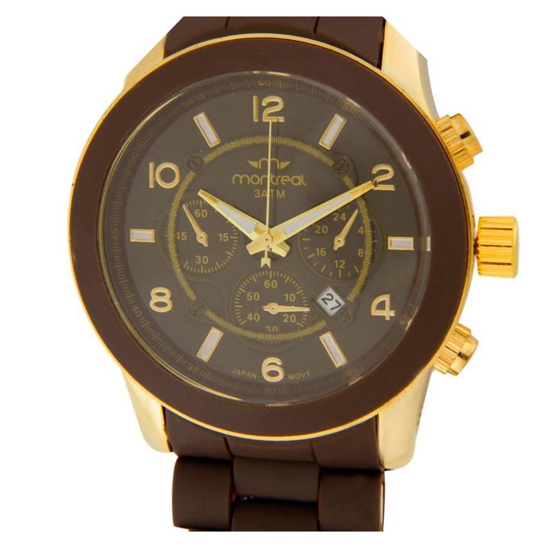 Montreal - Reloj marrón MA-123