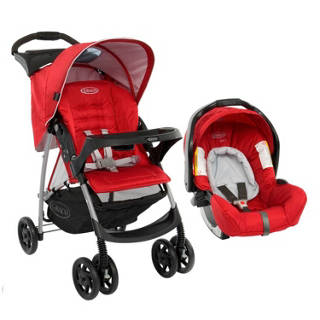 Travel System Mirage Plus Chilli