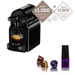 Nespresso - Cafetera Nespresso® Inissia Black D40-AR-BK-NE