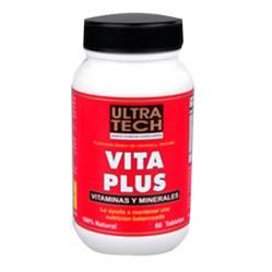 Ultra Tech - Vita Plus x 60 comprimidos