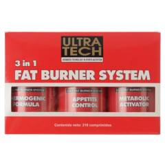 Ultra Tech - 3 in 1 Fat Burner System