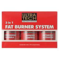 Ultra Tech - 3 in 1 Fat Burner System