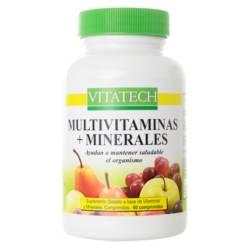 Vita Tech - Multi vitaminas y minerales x 60 comprimidos