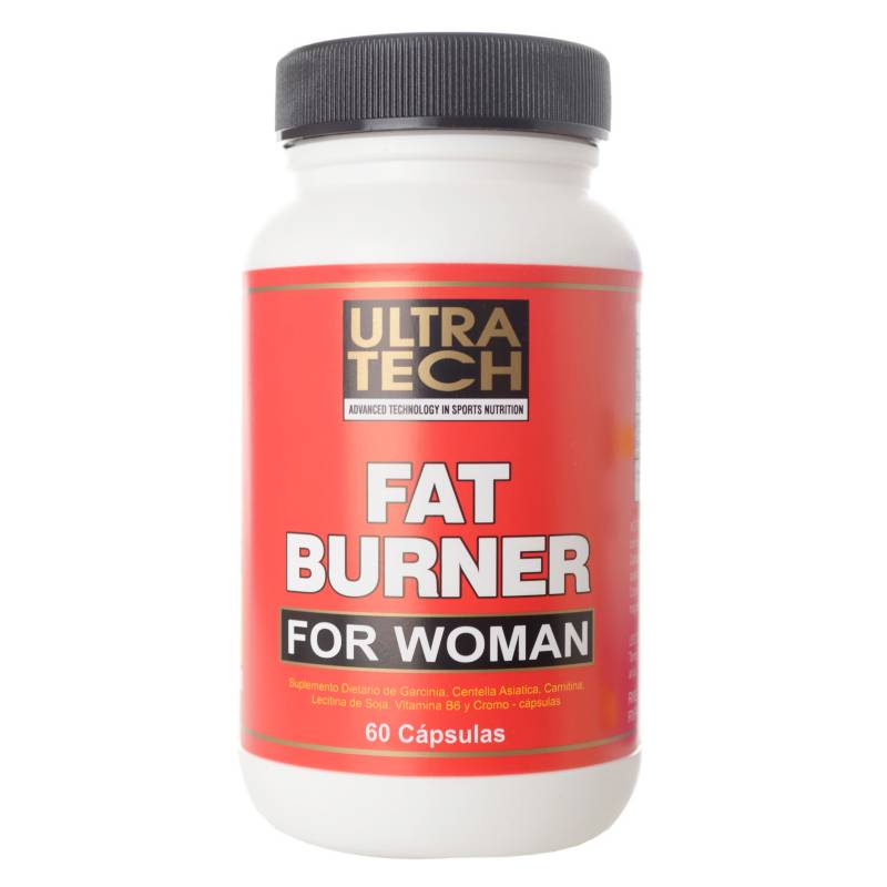 Ultra Tech - Fat Burner x 60 cápsulas women