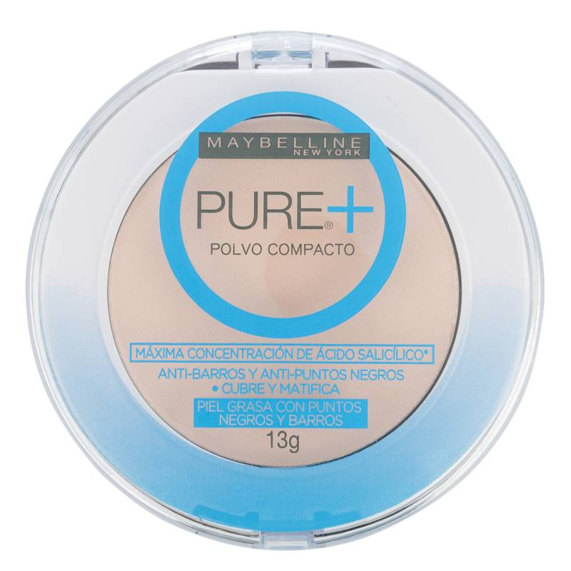 Maybelline - Polvo Compacto Pure Makeup Plus 9g