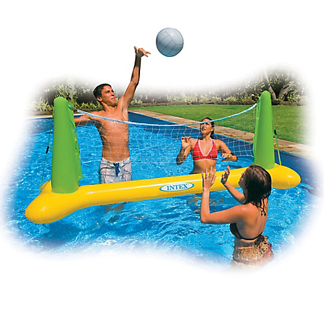 Juego Para Pileta De Volleyball Inflable Intex Falabella Com