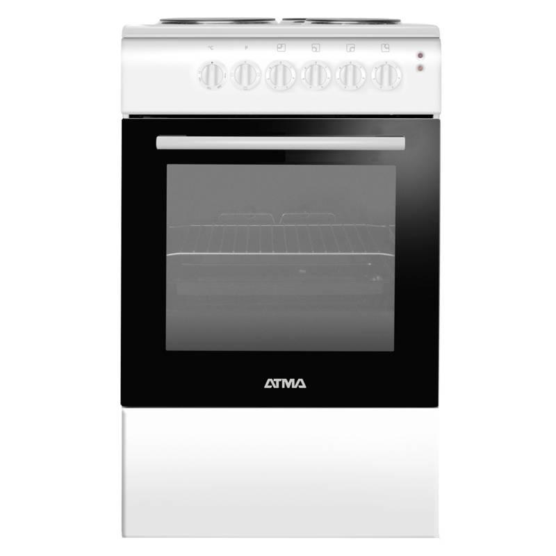 Atma - Cocina CCE3110B eléctrica 50 cm