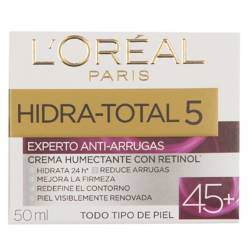 D Expertisse - Crema experto anti arrugas +45 hidra total 5 50ml