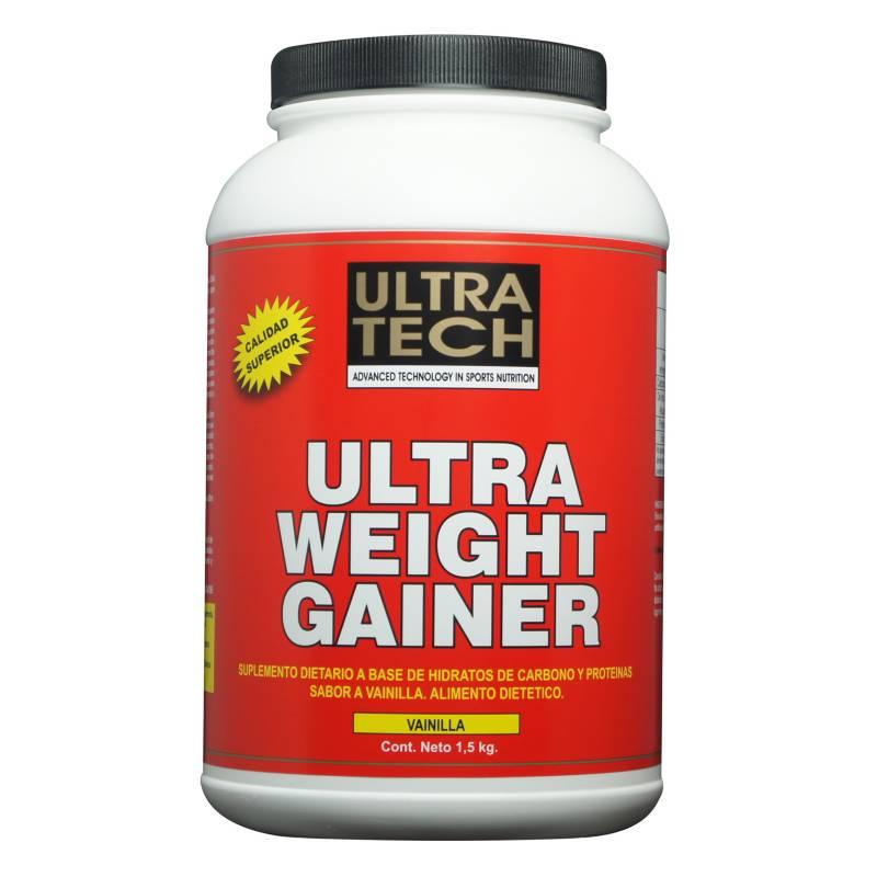 Ultra Tech - Ultra weight gainer 1.5 kg vainilla