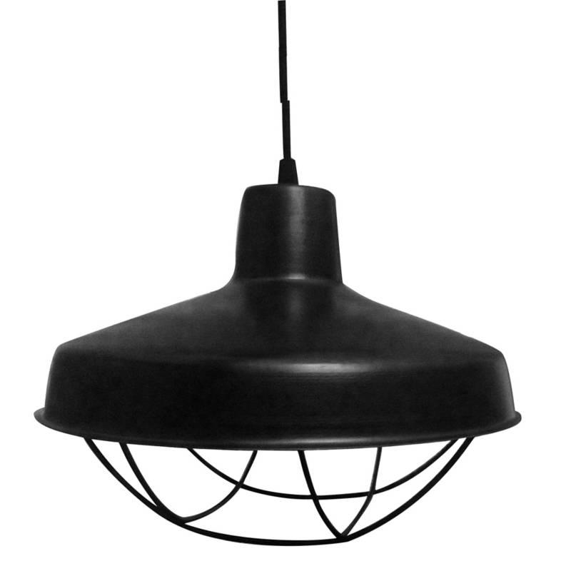 Lámpara colgante galponera 31x26 cm