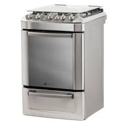 GE Appliances - Cocina a gas CJGE856IVS 56 cm