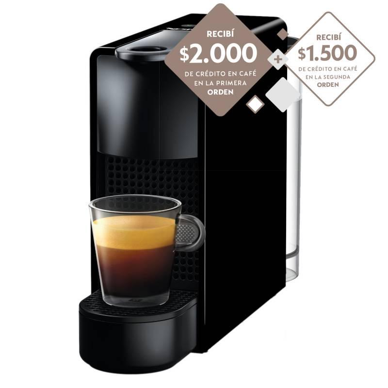 Nespresso - Cafetera Essenza Mini Black C30-AR-BK-NE