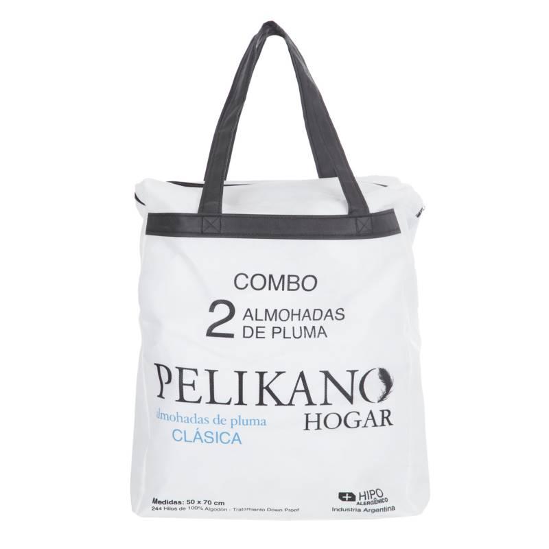 Pelikano - Set 2 almohadas 50x70 Clasicas