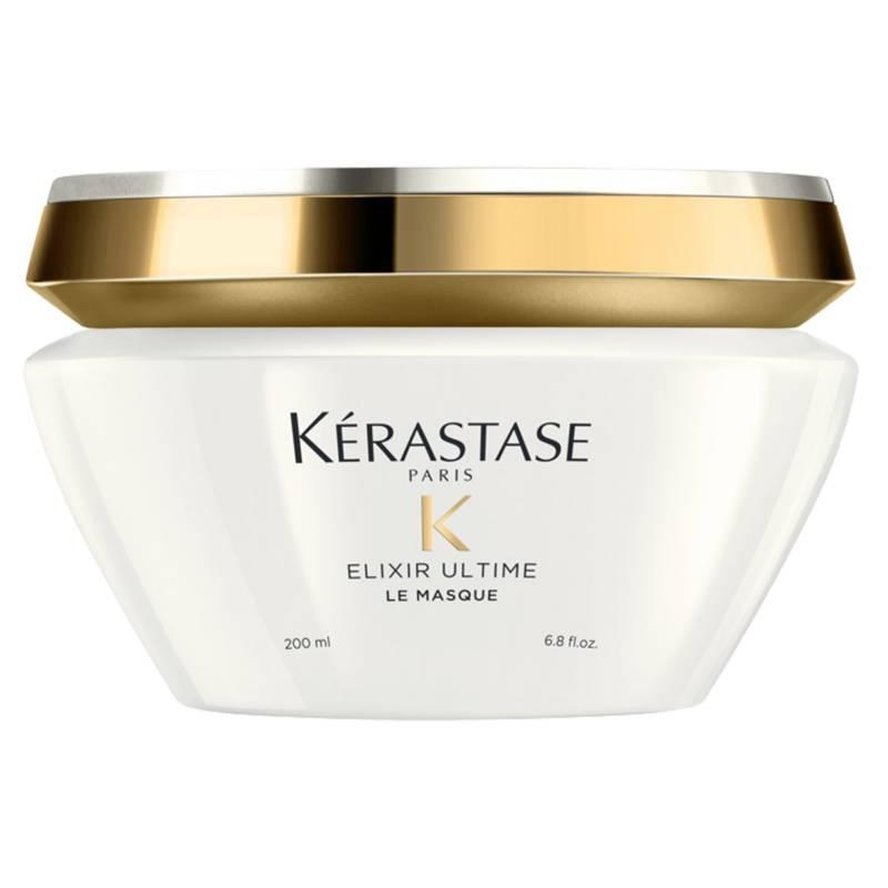 KÉRASTASE - Máscara/Baño de crema brillo y nutrición Elixir