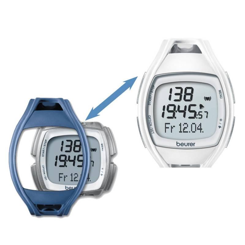 Beurer - Reloj Pulsometro con carcasa cambiable PM45