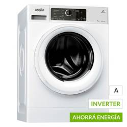 Whirlpool - Lavarropas WLCF70B 7kg Sense Inverter 7kg 1400 RPM