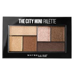 Maybelline - Paleta de Sombras The City Mini Palette Rooftop Bronzes 4g