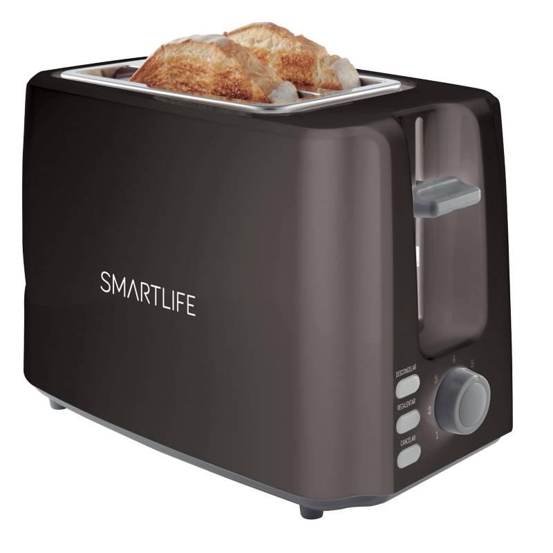 SmartLife - Tostadora SL-TO1301B 2 panes