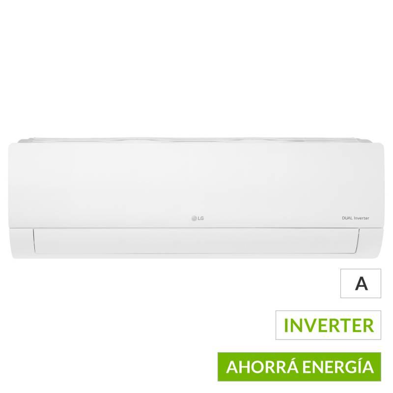 LG - Aire acondicionado split frío-calor inverter 3100 friogorías S4-W12JA3AA