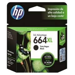 HP - Cartucho 664 XL negro