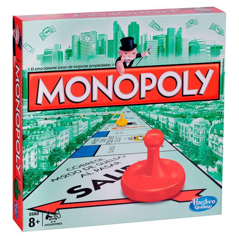 Hasbro - Juegos de mesa Monopoly