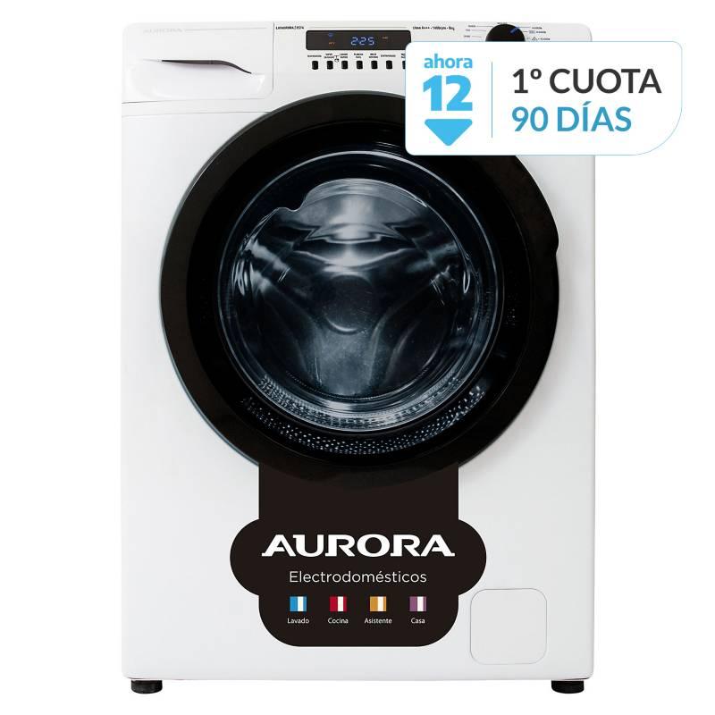 Aurora - Lavarropas 8514 Inverter 8kg 800RPM