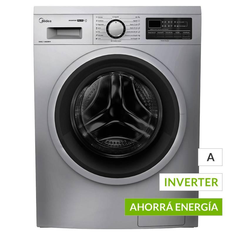 Midea - Lavarropas Inverter WF-LG110SAR1 10kg 1400RPM