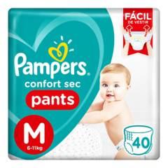 Pampers - Pañales Confort Sec Pants M 40 Unidades