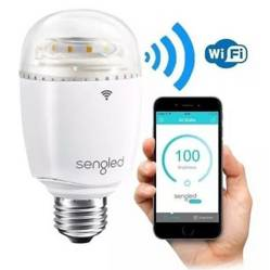 Lámpara led repetidora wifi 19030004 con repetidora de wifi