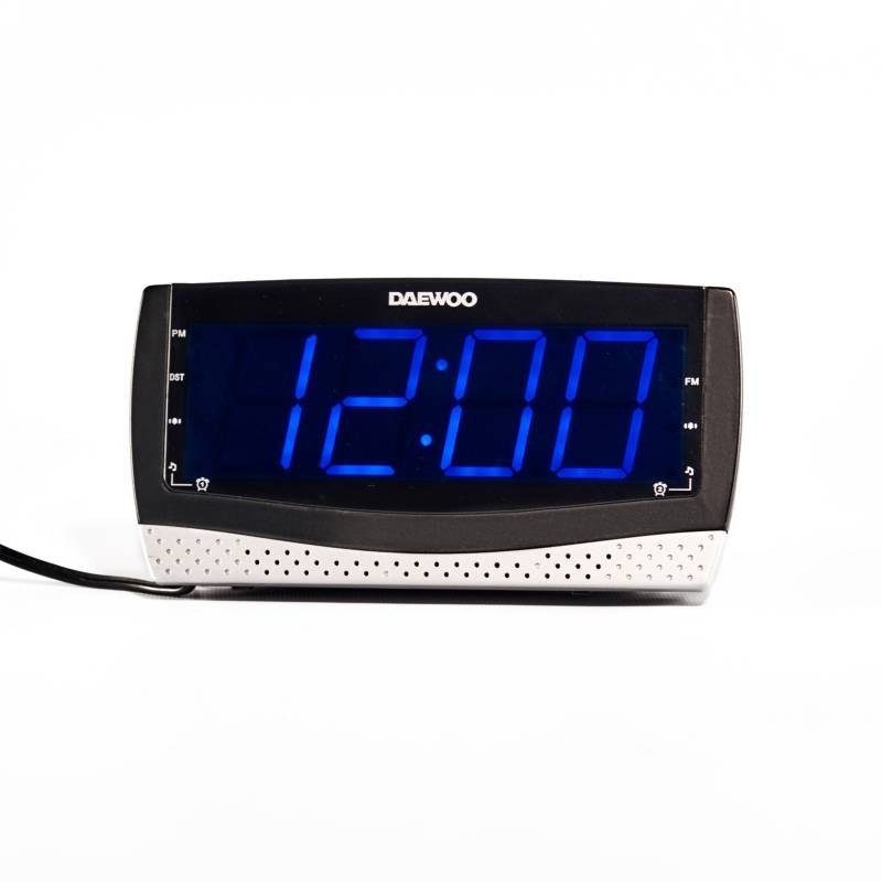 Daewoo - Radio reloj con cargador DI-978
