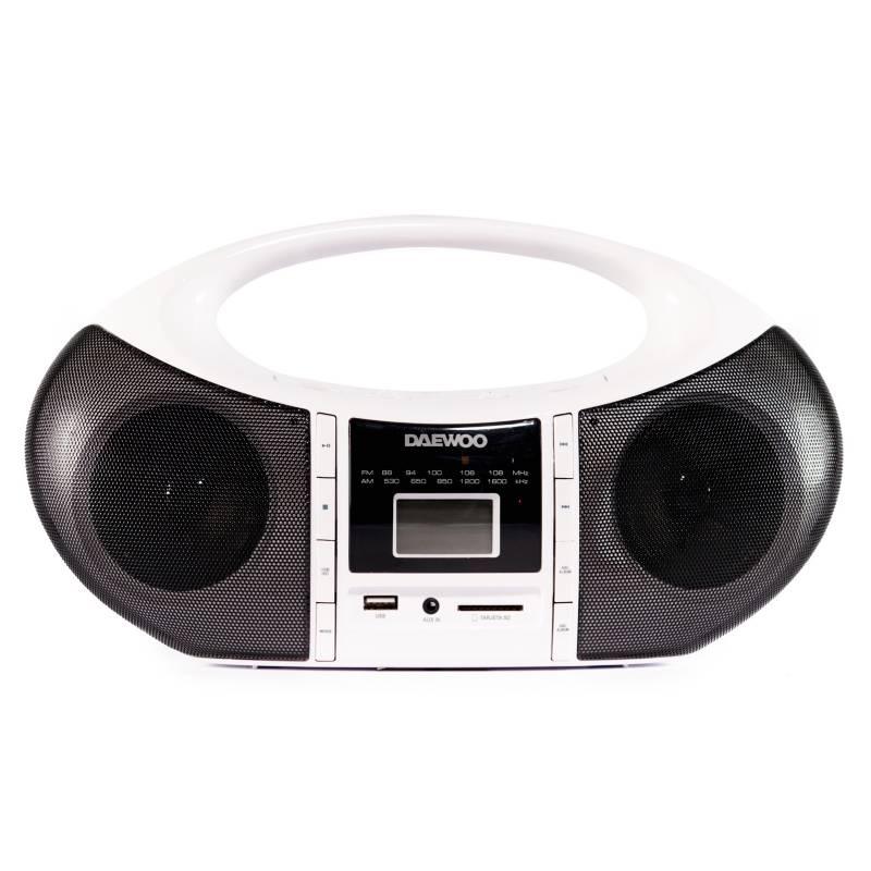 Daewoo - Radiograbador portátil DBB-1205
