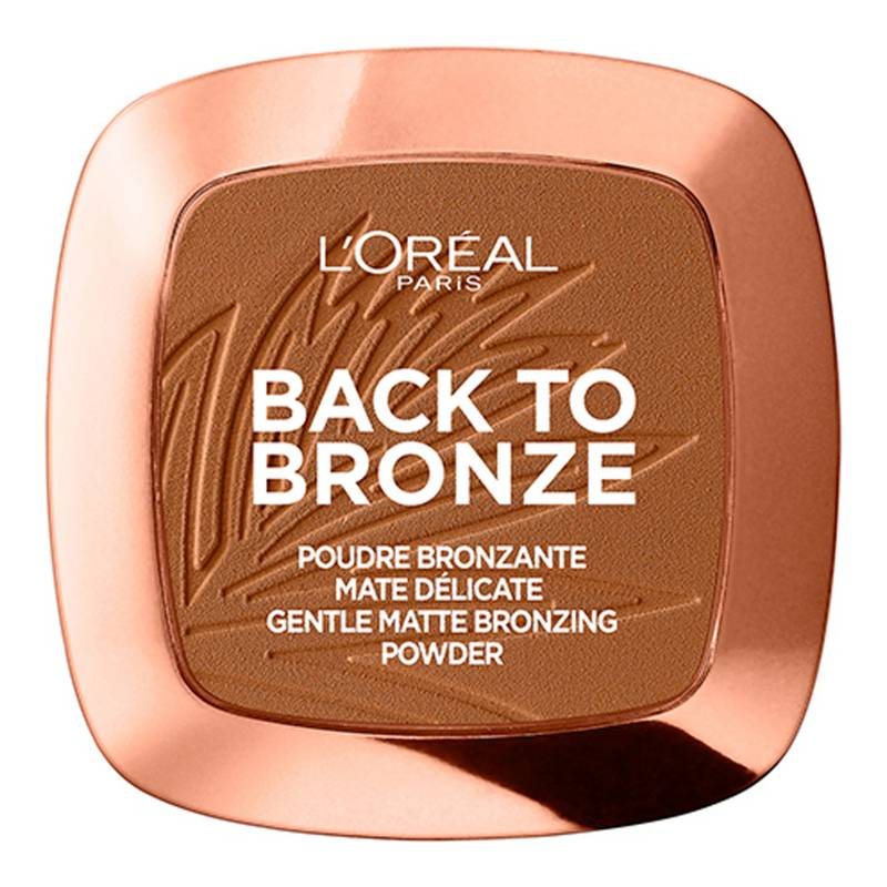 L'Oréal Paris - Polvo Bronceante Matte True Match 02 Sunkissed 9g