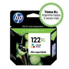 HP - Cartucho de tinta 122 XL COLOR