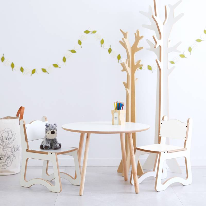 Mica - Mesa con sillas Kids