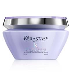 KÉRASTASE - Máscara Blond Absolu ultraviolet  200 ml - Neutraliza los tonos oxidados y amarillos no deseados