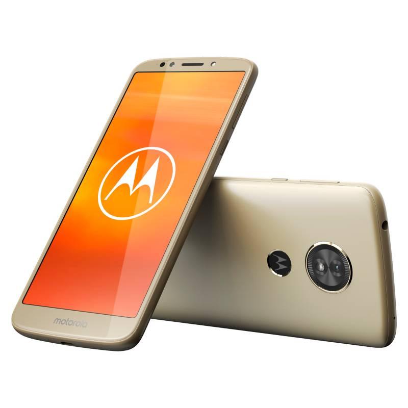 Motorola - Celular libre E5 Gold Open 16GB