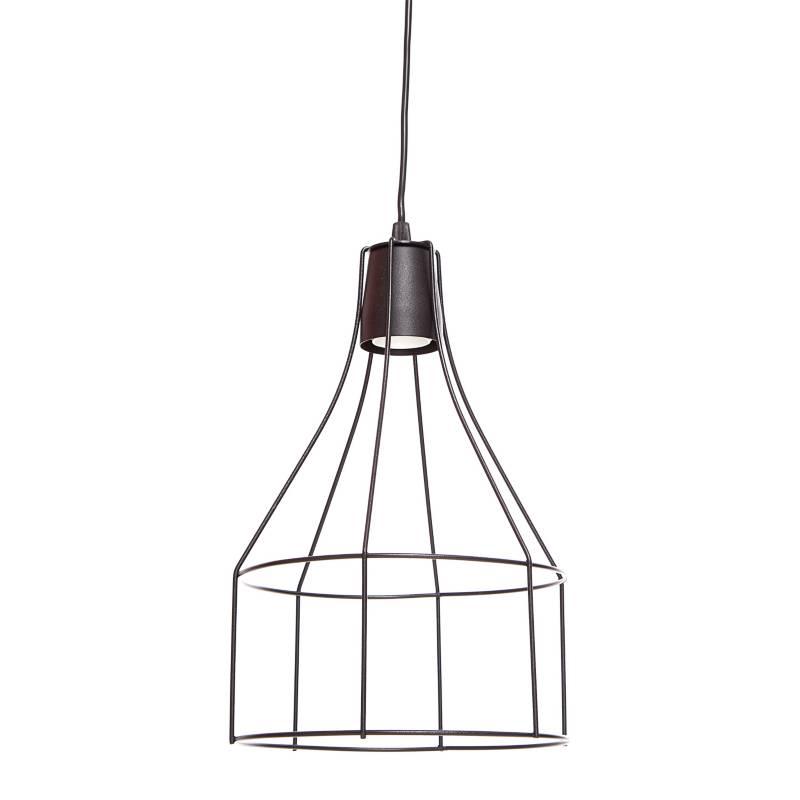 San Justo Iluminación - Lámpara colgante Jaula 33 x 21 cm