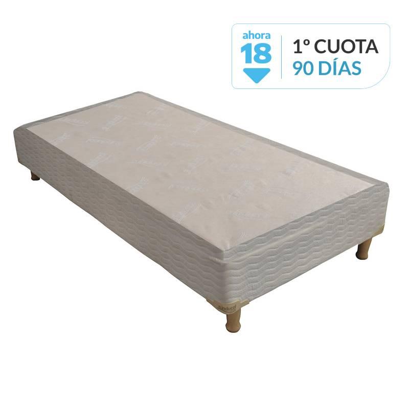 Inducol - Base cama 1 plaza 90x200 cm
