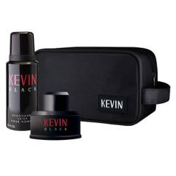 Kevin - Cofre Black EDT 60 ml + deo 150 ml